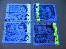 Canada 4 used centennials with clear tag errors, check these out!