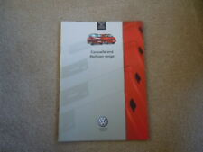 VW CARAVELLE MULTIVAN T4  BROCHURE  PROSPEKT