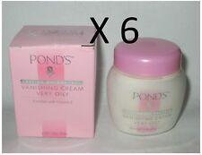POND'S Vanishing Cream 6 JARS Very Oily Face Cream 100ml Ponds New In Box