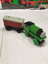 Thomas The Train Wooden Railway Percy 2003 And BAGGAGE CAR 2003
