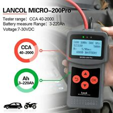 Lancol 12V Automotive Battery Tester for Car Quick Cranking Charging Mciro200Pro
