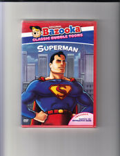 Original Bazooka Classic Bubble Toons - Superman: Vol. 3 (DVD, 2005) NEW Sealed