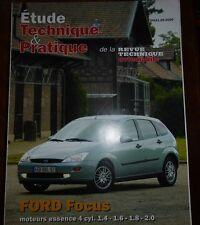 NEUF de STOCK ! Revue technique FORD FOCUS essence 1.4 à 2.0 RTA ETP631.09.2000