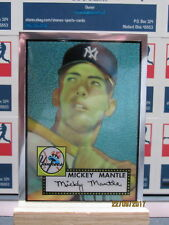 1996 Topps Mantle Finest #2 Mickey Mantle 1952 Topps Peeled
