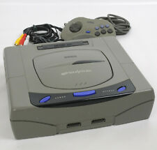 "Sega Saturn GREY Console System B53029600 FREE SHIPPING HST-3210 Tested ""NTSC-J"""