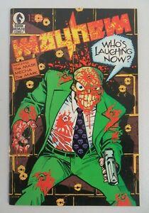 Mayhem #1 (1989) VG/FN Early Mask App John Arcudi Doug Mahnke Dark Horse Comics