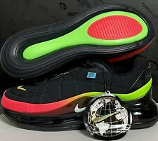 Nike Air Max MX-720-818 en todo el mundo (GS) juventud CD4392-001 Negro UK 6 EU 39 24.5cm