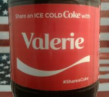 Share A Coke With Valerie 2017 Limited Edition Coca Cola Bottle