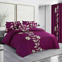 Luxury Duvet Cover Set Single Double King Size Bedding Quilt With Pillow Cases