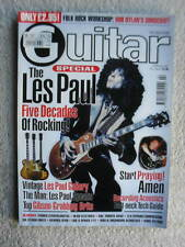 Les Paul 50th Anniversary Guitar World Import Magazine Heavy Metal Rock