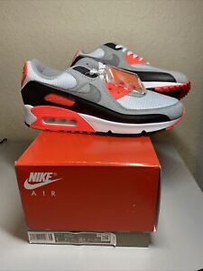 Nike Air Max 90 Infrared 2020 (CT1685-100) Size 9 US Men's DS New!