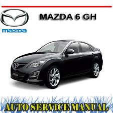 MAZDA 6 GH SERIES 2008-2012 WORKSHOP SERVICE REPAIR + OWNER'S  MANUAL ~ DVD