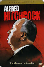 ALFRED HITCHCOCK: THE MASTER OF MACABRE in TIN CASE (3 DVD SET) ** Brand New **