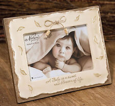 """Natures Poetry  Baby Photo Frame 4x6""""  Keepsake Gift  NEW"""