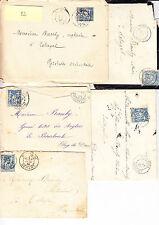 Lettres & courriers &CPA ,affranchissements marques postales à étudier  lot  32
