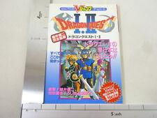 DRAGON QUEST I II  Game Guide Japan Book SFC VJ*
