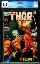 Thor #165 1969 CGC 6.5 Key Comic 1st appearance Warlock MCU Guardians 3