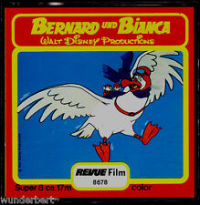 "Super 8 Film - "" Disney - Bernard und BIANCA "" - Revue Film 17 m"