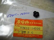 NOS OEM Suzuki Crankcase Drain Bolt  1982-2000 RM125 SV650 GV1400 17415-14300