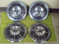 "1965 Plymouth Hub Caps 14"" Set of 4 Mopar Wheel Covers 65 Hubcaps"