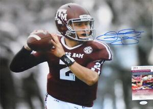 Huge -Johnny Manziel- JSA Certified Signed/Autograph Texas A&M 16x20 Photo