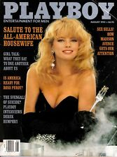 Playboy August 1992 Salute to the All-American Housewife Cover is Margie Murphy