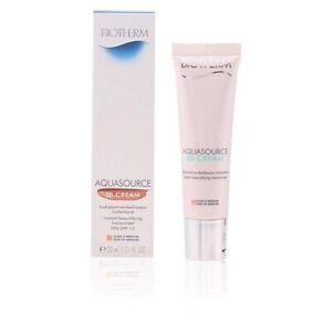 Biotherm Aquasource BB Cream Fair To Medium 30ml/1.01 oz BB Cream New In Box