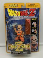 Dragon Ball Z Striking Z Fighters Krillin (2002) By Irwin Toy Action Figure DBZ