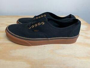 Vans Shoes Mens Size 10.5 Black/Brown Used Skateboarding