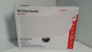 Hikvision DS-HD1 3MP Outdoor Wi-Fi Smart Video Doorbell Camera.