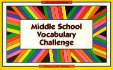 Middle School Vocabulary Challenge (Middle School Challenge)-ExLibrary