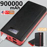 4USB 900000mAh Power Bank LCD LED Backup Battery Charger for Cell Phone Business