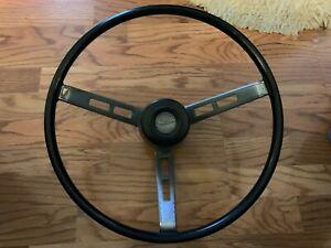 Mopar 1968 1969 Complete Steering Wheel Dodge Plymouth Woodgrain Charger GTX