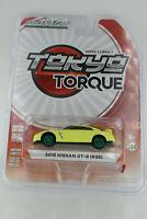 A.S.S NEU GreenLight 1/64 Nissan GT-R (R35) Tokyo Torque Green Machine Chase