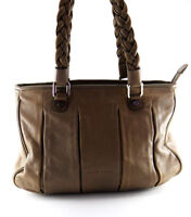 Coccinelle Beige Leather Women's Shoulder Bag