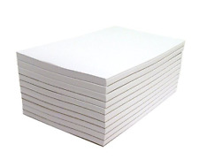 Memo Pads - Note Pads - Scratch Pads - Writing Pads - 10 Pads with 50 Sheets in
