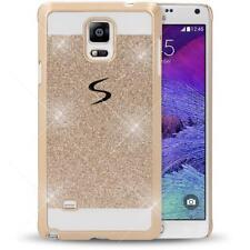Samsung Galaxy Note 4 Hülle Handyhülle von NICA, Glitzer Hard-Case Bling Cover