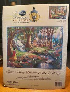 The Disney Dreams Collection Thomas Kinkade Snow White Cross Stitch 52500 16X12