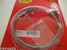 FORD C4 STAINLESS BRAIDED KICK DOWN CABLE TRANSMISSION DETENT #5100