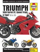 Triumph 1050 Sprint, Speed Triple & Tiger Repair Manual (2005-2009) HAYM4796