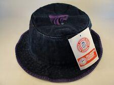 Toddler Size NCAA Kansas State Wildcats Vintage Bucket Hat Blue Denim