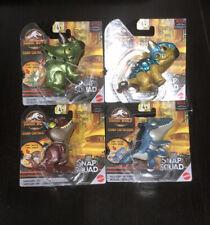 Jurassic World Snap Squad Camp Cretaceous Wave 6 Metallic Set of 4 Fast Ship!