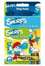 The Smurfs Childrens Colouring & Activity Play Pack Gift Xmas Stocking Filler