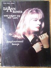 LEANN RIMES YOU LIGHT UP MY LIFE SONGBOOK INSPIRATIONAL SONGS Piano Vocal Chord