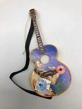 Santa's Best Christmas Ornament - Elvis Presley Light-up Guitar - Viva Las Vegas