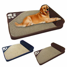 Extra Large Dog Bed Ultra Soft Foam Orthopedic Durable Jumbo Winter Warm Kennel