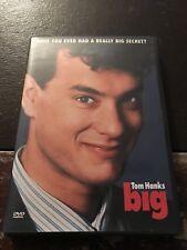 DVD - Big (2003, Widescreen) Feat. Tom Hanks w/ Chapter Insert RARE & OOP