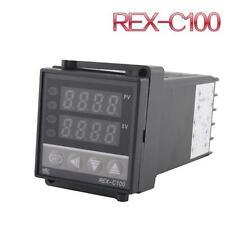 New 0~400°C Dual PID Digital Temperature Control Thermocouple REX-C100