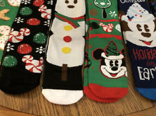 Disney Christmas 6 Or Mickey Mouse Socks Womens