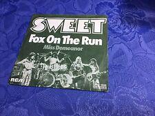 "SWEET (7"") FOX ON THE RUN [GERMAN 70S VINYL 45 SINGLE GUARDIANS OF THE GALAXY 2]"